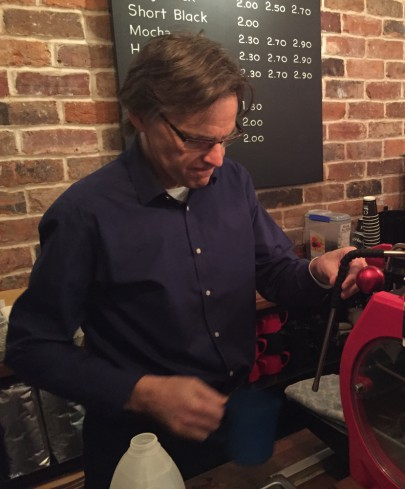 Ben: biographer, blog-meister, barista: is there no end to the mans talents?