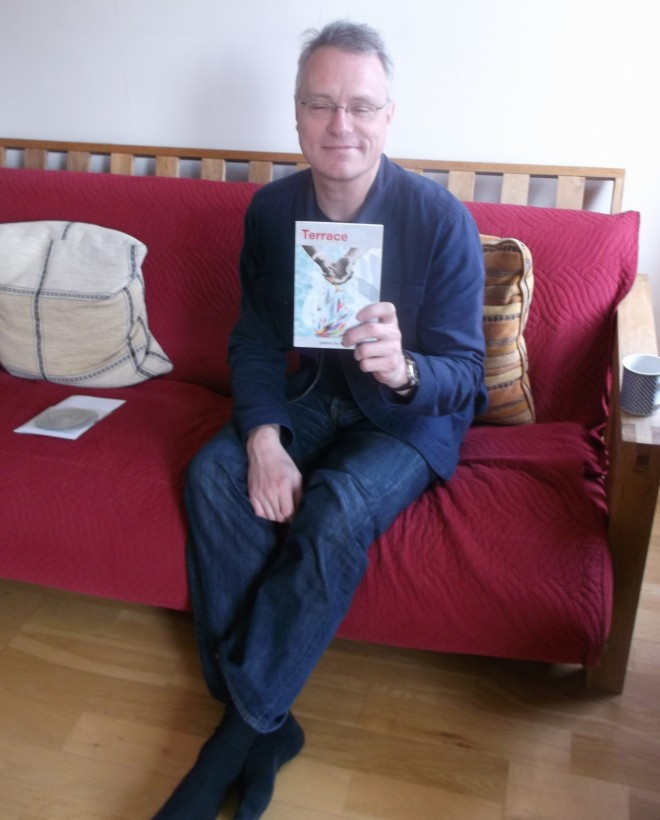 Richard with his latest tome!