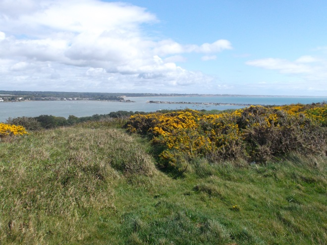 The ancient earth ramparts of Hengistbury, allegedly inhabited for 12.5k years - have we been around that long?