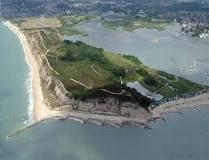 To Hengistbury Head, east of Bournemouth